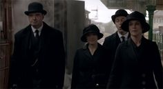 Downton staff leave for Duneagle