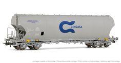 """Electrotren - E8018 - Vagón tolva """"CINDASA"""" - Hornby® International"""