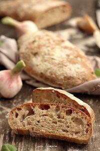 Bread Recipes, Baking Recipes, Bread Art, Good Food, Yummy Food, Ciabatta, Food Videos, Bakery, Deserts