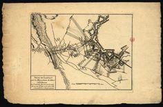 CC_90_P2 - «Siege de Landau par les mareschaux de villars et de Besons la tranchée fut ouverte la nuit du 24 au 25 Juin 1713 et la Ville se rendit le 21 Aoust suivant. [S.l. : s.n., ca 1725]. Gravura ; 20,9x27,3 cm, em folha de 26,7x41,4 cm. Cota BNP C.C. 90 P2. Disponível em: http://purl.pt/1746