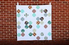 There's no better way to celebrate winter than with this Polar Vortex Quilt Pattern.