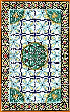 Large Decorative Ceramic Tiles Pinlaila T On Persian Art  Pinterest  Persian