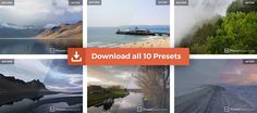 Free Lightroom Presets for Landscape and Nature Photography by Presetbase