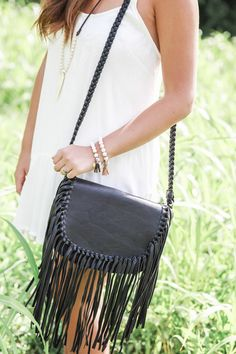 Saddle up Fringe Cross-body