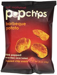 Popchips Barbeque Potato Chips  08 oz >>> Check out the image by visiting the link.Note:It is affiliate link to Amazon.