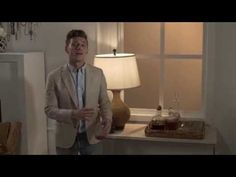 Let expert Jeremiah Brent shed a little light into those darkened corners of your home with these bright designs. Nate And Jeremiah, Lamps, Clouds, Youtube, Design, Home Decor, Lightbulbs, Decoration Home, Room Decor