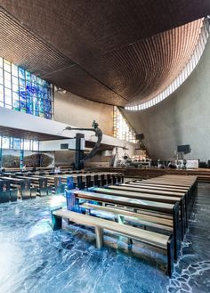 "These Churches Are the Unrecognized Architecture of Poland's Anti-Communist ""Solidarity"" Movement,© Maciej Lulko"