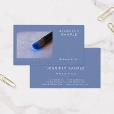 Cosmetician Makeup Modern Elegant Professional Business Card - hair stylist gifts business cyo diy custom create