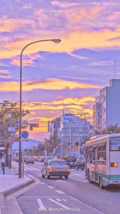 Aesthetic Desktop Wallpaper, City Wallpaper, Anime Scenery Wallpaper, Aesthetic Backgrounds, Whats Wallpaper, Kawaii Wallpaper, Purple Wallpaper Iphone, Aesthetic Japan, City Aesthetic