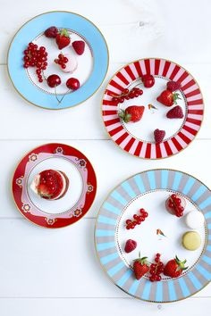 Have fun with your dishes this summer! Mix up the colors to complement your food!
