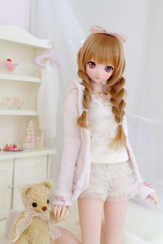 She is really cute doll