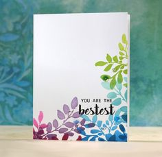 Floral Shadow Stamp Set 2019 The shadow images in this set are perfect for background stamping and for The post Floral Shadow Stamp Set 2019 appeared first on Scrapbook Diy. Cute Cards, Diy Cards, Your Cards, Tarjetas Stampin Up, Stampin Up Cards, Handmade Greetings, Greeting Cards Handmade, Simple Handmade Cards, Handmade Tags