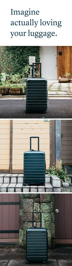 The Away Carry-On  -  Thoughtfully designed for the way you travel.