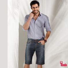 Embarcar no clássico jeans é o truque mais incrível de quem curte um visual ultra moderno. Afinal, o denim existe, justamente, pra atualizar os looks. #LojasTendaVerão2017