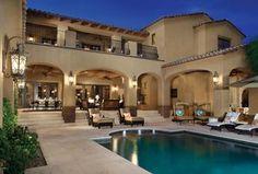 Mediterranean Exterior of Home Design Ideas & Pictures   Zillow ...