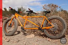While it may be disguised as a fat bike tandem, the new Drop Fat Prototype is intended to tackle gravel roads and touring destinations. Tandem Bicycle, Buy Bicycle, Bicycle Art, Fat Bike, Sidecar, Cycling Bikes, Custom Motorcycles, Cool Bikes, Mtb