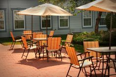 Relax on our spacious patio!