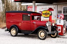 1931 Ford Model A Panel Delivery. More Car Pictures:  http://carpictures.us