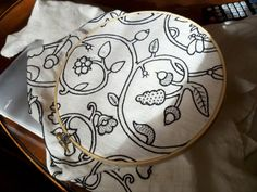 """16th c. blackwork coif – complete! » Princess of Bob (""""Frances' pattern by Laren Mellin, from Reconstructing History)"""