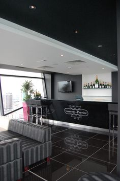 The Laurent-Perrier champagne lounge