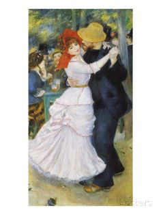 Dance at Bougival, 1883 Giclee Print by Pierre-Auguste Renoir - at AllPosters.com.au Pierre Auguste Renoir, August Renoir, Renoir Paintings, Canvas Paintings, Ouvrages D'art, Oil Painting Reproductions, Impressionist Art, Museum Of Fine Arts, Beautiful Paintings