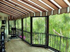 Patio Cover w/Enclosure Panels