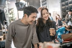 New images of Jung Hae In and Kim Go Eun have been revealed ahead of their upcoming movie premiere! Romance Film, Kim Go Eun, Korean Entertainment, Kdrama Actors, New Poster, Music Albums, Upcoming Movies, Korean Actors, Korean Dramas