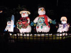 Hawaiian Snow Family in Hawaii display at Honolulu Hale, Oahu
