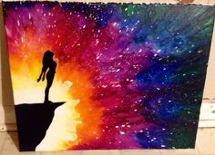 Melted Crayon Art by Uniquecollegekid on Etsy