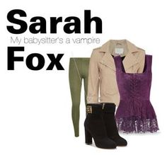 """""""My babysitter's a vampire- Sarah Fox"""" by julietrose2003 on Polyvore featuring WearAll, IRO, Salvatore Ferragamo, Tiffany & Co., women's clothing, women, female, woman, misses and juniors"""