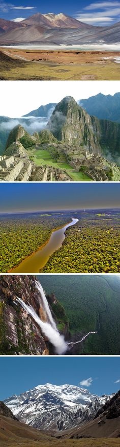 Think you've seen everything? These 5 Latin American landscapes will take your breath away!   ¿Crees que lo has visto todo? ¡Estos 5 paisajes de Latinoamérica te dejarán sin habla!