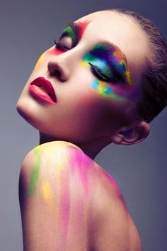 Rainbow Bright Beauty : Brittany Hollis by Jeff Tse