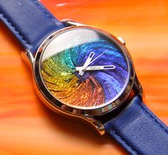 Dicroic Fused Glass Watch