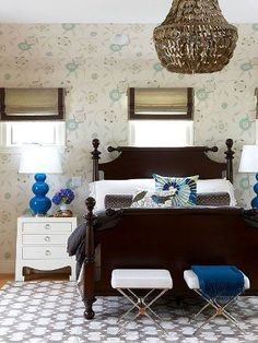 Updated traditional style bedroom from bhg.com