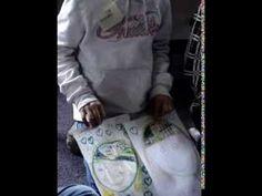 MatriXmethode, meisje van 11, hoofd opgeruimd met kastjes
