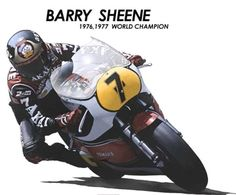 Barry Sheene - loveable 'Cheeky Chappie' and double World 500cc Champion