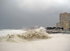 Sea Point Beach. Cape Town, South Africa