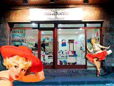 Cartel para la tienda MiAroma