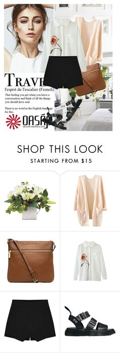 """""""Oasap #10"""" by i-do-have-a-ch0ice-fash10n ❤ liked on Polyvore featuring MICHAEL Michael Kors, Dr. Martens and oasap"""