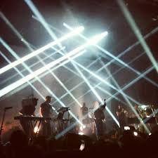 Woodkid stage lighting