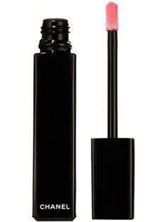 Imaginaire Chanel Rouge Allure Extrait de Gloss Pure Shine Intense Colour Long Wear Lip Gloss in Imaginaire Review: Makeup: allure.com