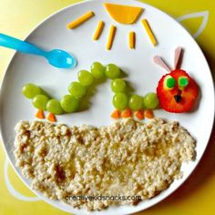 The Very Hungry Caterpillar Breakfast