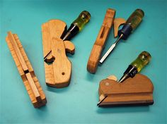 shop made rabbet plane from ncwoodworker.net