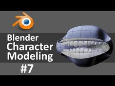 Blender Character Modeling 7 of 10 - YouTube