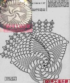 Photo from album Crochet Doily Rug, Crochet Doily Diagram, Crochet Motif Patterns, Crochet Dollies, Crochet Ripple, Crochet Circles, Crochet Tablecloth, Crochet Home, Crochet Gifts