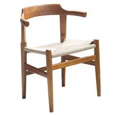 Finemod Imports Modern Stringta Dining Side Chair FMI10106-walnut