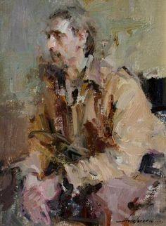 Carolyn Anderson   Seated Figure, Simpson Gallagher Gallery, Fine Art, Cody Wyoming, Yellowstone