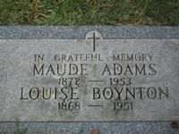 Maude Adams: The 'First' Peter Pan Maude Adams, Somewhere In Time, Human Development, History Facts, Peter Pan, The One, Movie Stars, Births, Graveyards