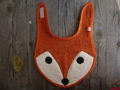 Lätzchen - Lätzchen Fuchs *'M' Design* - ein Designerstück von liamala bei DaWanda