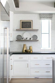 Black And White Home Inspiration Kitchen